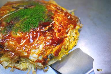 本場の広島お好み焼を食べませんか?