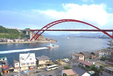 広島呉の風景