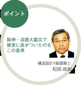 阪神・淡路大震災で 被害に差がついたのもこの基準